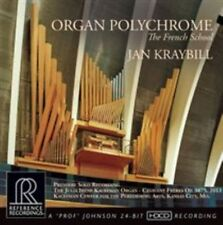 Organ Polychrome: The French School (CD, Sep-2014, Reference Recordings)