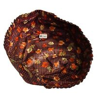 Longaberger Fall Gingham Fabric Basket Liner Excellent Mint Condition Free ship