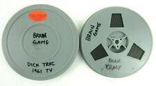 "Vintage 1961 TV Cartoon DICK TRACY - BRAIN GAME Super 8mm B&W Film 5"" Reel 200'"