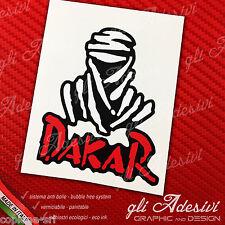 1 Adesivo Stickers DAKAR Touareg White & Red