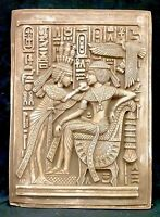 Ancient Egyptian Fragment of King Tut and Wife