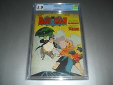 Batman #38 CGC 5.0 from 1946! DC classic Penguin cover not CBCS A23