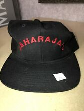 Maharaja's Hat Black With Red Logo