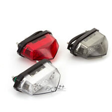 12V Motorcycle Rear LED Tail Light Brake Turn Signal Indicator For Yamaha Honda