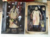 """NECA Texas Chainsaw Massacre Leatherface 7"""" Action Figure 40th Anniversary Doll"""