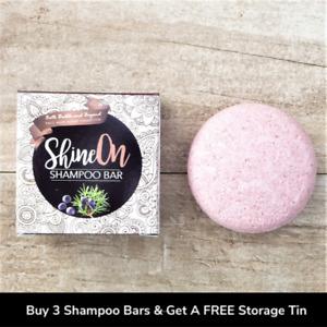 SHINE ON SHAMPOO BAR - ZERO WASTE PLASTIC FREE ECO FRIENDLY PARABEN FREE