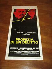 LOCANDINA,1975,PROFEZIA DI UN DELITTO FRANCO NERO STEFANIA SANDRELLI CHABROL,S/6