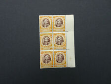 STAMPS VATICAN CITY 1946 COUNCIL OF TREAT BLOCK OF 10   TAN  4   MINT MNH