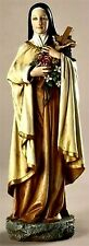 "St. Therese of Lisieux ""Little Flower"" 10"" Statue Joseph Studios NIB"