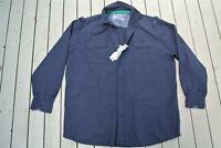 RIVERS Blue Check WORK/CASUAL SHIRT MENS L. Cotton. NEW rrp $59.99