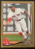 2014 TOPPS GOLD 97/2014 PARALLEL RC 133 XANDER BOGAERTS RED SOX - Gradable