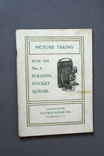 Picture Taking with the No. 3 Folding Pocket Kodak, EKC 1909