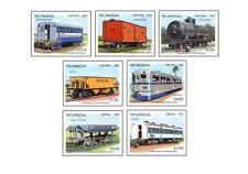 NIC8303 Modern railways 7 stamps