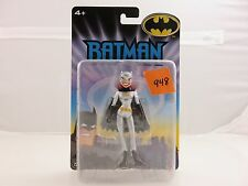 Batman The Animated Series BATGIRL Action Figure Silver Costume NEW 2005 Mattel