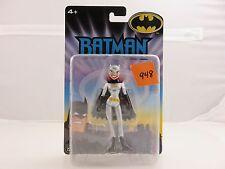 Batman The Animated Series BATGIRL Action Figure Silver Costume NEW 2005 Mattel