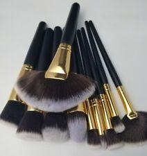 Dream Beauty Shed-Free Luxury 10 pc Kabuki Makeup Brush Set