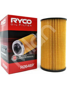 Ryco Oil Filter FOR AUDI A3 8PA (R2646P)