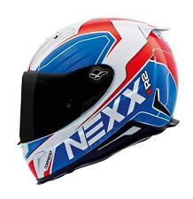 NEXX X.R2 Torpedo Blue EXTRA LARGE Full Motorcycle Helmet XL -(CLOSEOUT SALE)-