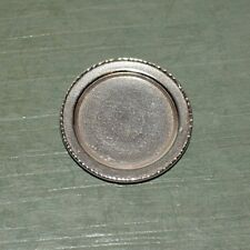 Miniature Sterling Silver Plate Dollhouse 1:12 Aerie