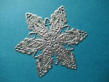 NEW Large Filigree Christmas Snowflake Metal Craft Cutting Die UK SELLER