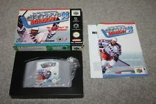 Nintendo 64 - Gretzkys 3D Hockey 98 - N64 - Complete - Boxed + Manual - VGC