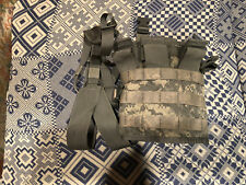 US ARMY Tactical Panel TAP ACU COMBAT CHEST RIG ARMY w/ STRAPS