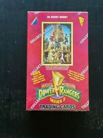 """Power Rangers Series 2 red box- BRAND NEW """"Collect-A-Card"""" trading cards - 1994"""