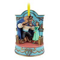 Decoration Boule Ornement Noel La Belle Et La Bete Musicale Disney Store