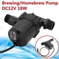 12V DC 18W Brewing Craft Homebrew Beer Wort Mash Circulation Fluid Transfer