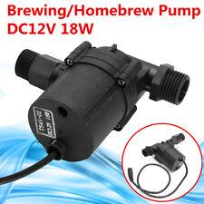 12v DC 18w Brewing Craft Homebrew Beer Wort Mash Circulation Fluid Transfer Pump