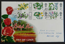 Connoisseur First Day Cover 'British Flora' - 1967. Herne Bay Cancellation
