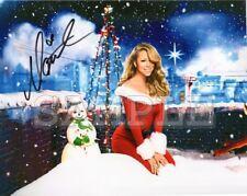 Mariah Carey signed 8x10 Autograph Photo RP - Free ShipN! Sexy - 90's Christmas
