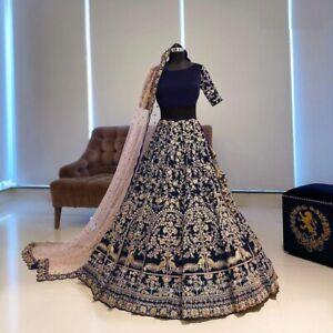 Hochzeit Indisch Bollywood Designer Partykleidung Salwar Pakistani Lehenga Choli