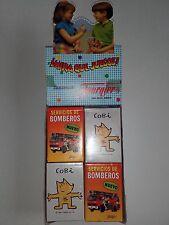 Baraja de Cartas Servicio de Bomberos de Fournier, naipes, catetos, cuartetos