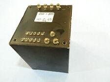 Trasformatore schermato 220V/ 45V-0-45V 1200VA militare