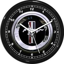 "12"" Mustang Wall Clock Personalized Garage Work Shop Gift  Man Cave Rec Room"