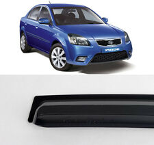 Smoke Rain Window Sun Visor With LED type For 2006-2011 Kia Rio Pride 4d