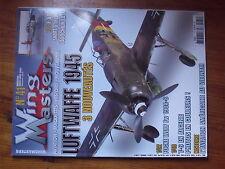 $$y Revue Wing Masters N°41 Luftwaffe 1945  F-84G  Focke Wulf Fw 190A-8  T-6