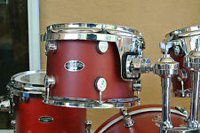 "PDP by DW FS BIRCH SERIES 12"" RED RACK TOM for YOUR DRUM SET! LOT #A81"