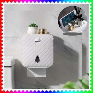 Toilettenpapierhalter Papierhalter Klopapierhalter Box Feuchttücher Behälter DE