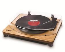 Ion Audio Classic LP Wood Plattenspieler Vinyl Umwandlung USB PC & Mac Turntable