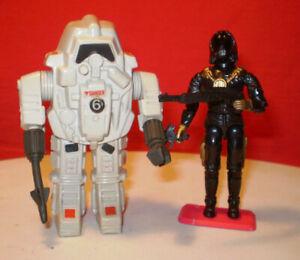 1984 GI JOE COBRA SNAKE S.N.A.K.E. ARMOR & 1988 STAR-VIPER OPERATOR RARE ARAH **