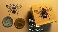 P96 Smaller bee rubber stamp
