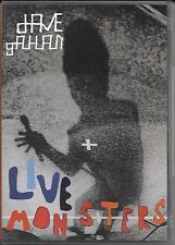 "DAVE GAHAN - RARO DVD "" LIVE MONSTER """