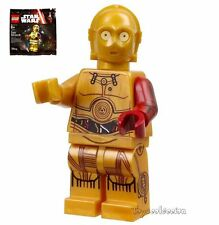 LEGO STAR WARS THE FORCE AWAKENS C-3PO 5002948 ORIGINALE MINIFIGURE POLYBAG