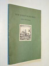 New Jersey Road Maps of the 18th Century NJ history genealogy