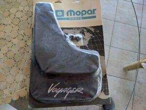 OEM Mopar Rear Splash Guards Mud Flaps 82203874 96-00 Chrysler Plymouth Voyager