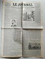 N930 La Une Du Journal Le journal 11 octobre 1911 la Turquie devant la Triplice