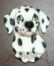 DALMATIAN soft sculpture dog head fridge MAGNET New