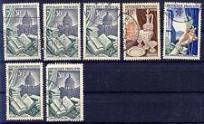 France _ 1954 Mi. Nº 997-999 industries d'exportation